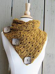 Ravelry: Alice Button Cowl, Free Crochet Pattern pattern by CrochetDreamz Crochet Scarves, Crochet Shawl, Crochet Clothes, Easy Crochet, Crocheted Scarf, Crochet Gifts, Crochet Cowl Free Pattern, Free Crochet, Crochet Patterns