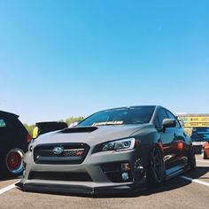 Best Auto Tuning Style : Illustration Description The StI insta : - 2015 Subaru Wrx, Subaru Cars, Subaru Impreza, Subaru Forester, Tuner Cars, Jdm Cars, Slammed Cars, Car Memes, Japan Cars