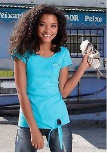Damen Top / Shirt in türkis von AJC Gr.36/38 NEU  | eBay