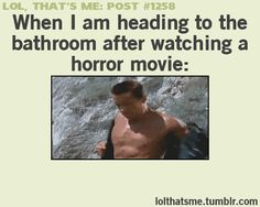 After watching horror movie | Funny Gifs, Pictures and Quotes