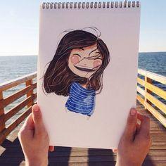 Imagem de girl, art, and drawing
