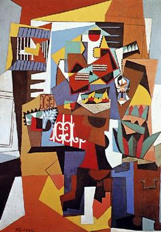 Pablo Picasso - The bird cage Cosby Sweater? Has anyone started making sweaters out of Picasso paintings yet? Can that be a thing? Kunst Picasso, Art Picasso, Picasso Paintings, Pablo Picasso Artwork, Cubist Artists, Cubism Art, Georges Braque, Les Oeuvres, Art History