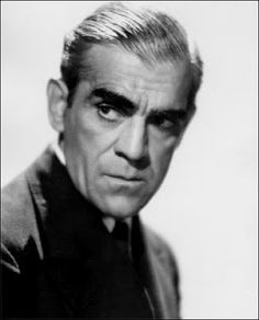 Boris Karloff: third, but not least of the three great actors of classic horror Hollywood Icons, Hollywood Stars, Classic Hollywood, Old Hollywood, Classic Horror Movies, Classic Movie Stars, Scary Movies, Old Movies, Boris Karloff Frankenstein