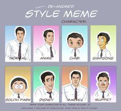 Blaine Anderson - Style Meme by *yu-oka on deviantART