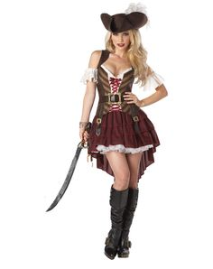 Sexy Swashbuckler Womens Costume