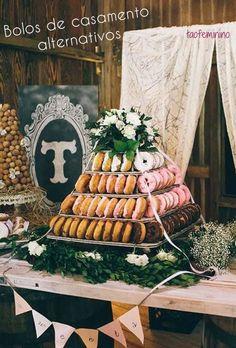 Fica! Não vai ter bolo, mas temos sobremesas ainda melhores... 10 alternativas ao bolo de casamento tradicional <3