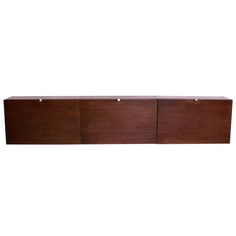 Rare George Nelson CSS Wall Hung Unit in Rosewood by Herman Miller ca1950s
