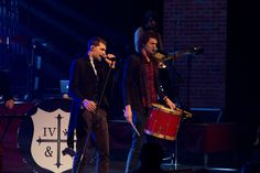 Joel and Luke from for KING & COUNTRY rock out at the K-LOVE Christmas Tour. #KLOVEChristmas #KLOVEIndy