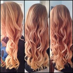67 Best Red Blonde Ombre Images Haircolor Hair Colors Colorful Hair