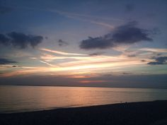 #Sunset over #BrackleshamBay #Beach #Chichester #WestSussex #PicOfTheDay #PhotoOfTheDay