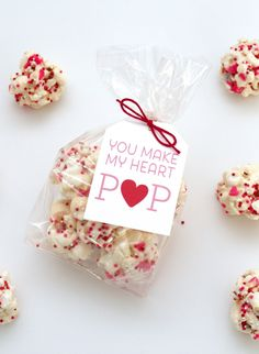 Hi Everyone! I am over at I Heart Naptime sharing a fun Valentine's Popcorn Ball Recipe and free printable. Pop on over.