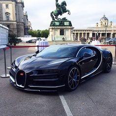 Black Bugatti Chiron #bugatti #chiron #bugattichiron by rich.gentlemen