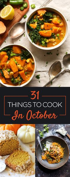 31 Things You Should Eat In October