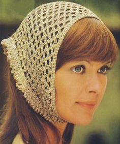 Crochet Hair Kerchief Pattern : natty crochet headscarf tutorial see more 2 a rather natty crochet ...