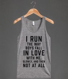 I hate running, but these are funny and would be fun for dry land...
