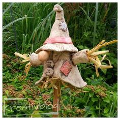 About painting crafts pottery sewing baking cooking designing desig Pottery Sculpture, Sculpture Clay, Polymer Clay Recipe, Sculptures Céramiques, Cement Crafts, Concrete Art, Clay Projects, Clay Creations, Hobbies And Crafts