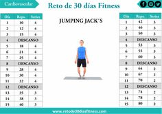 Anuncios       Sencillo, fácil, divertido pero eficaz, así podemos definir a jumping jack´s.  Jumping Jack´s también conocido como salto...