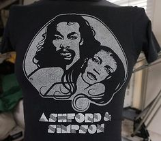 vintage-ASHFORD-SiMPSON-T-SHiRT-70s-A-MUSICAL-AFFAIR-Small-disco-funk-soul