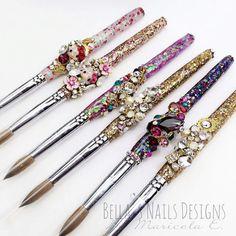 Pincel para acrilico de bellas nails designs