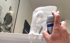 5 Must-See Ways to Clean With Shaving Cream How To Clean Mirrors, Shaving Cream, Diy Beauty, Small Bathroom, Cleaning, Corner, Small Shower Room, Home Cleaning, Homemade Beauty Products