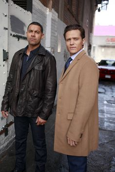 "Esposito and Ryan in ""Under the Influence"""