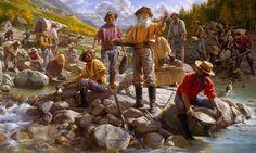 Kalifornská zlatá horečka: Zavírali si zlatokopové do stanů hady?