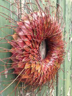 inserzione di Etsy su https://www.etsy.com/it/listing/165895025/fall-wreath-autumn-wreath-holiday-wreath