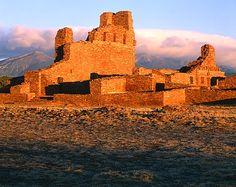 New Mexico, Abo Pueblo Ruins