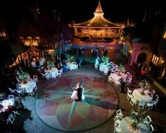 Behind the castle reception  Ahhhhh