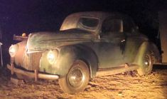 Evicted After 67 Years: 1939 Ford 5 Window Coupe - http://barnfinds.com/evicted-after-67-years-1939-ford-5-window-coupe/