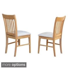 Shop for Norfolk Oack kitchen dining chair (Set of 2). Get free shipping at Overstock.com - Your Online Furniture Outlet Store! Get 5% in rewards with Club O!