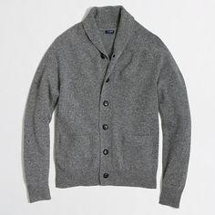 J.Crew Factory  Factory donegal shawl-collar cardigan