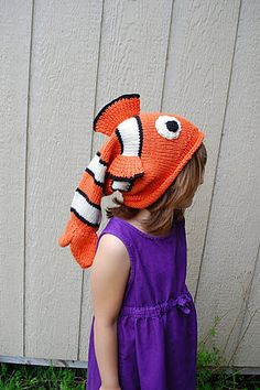 Ravelry: Project Gallery for Fish Hat Free! pattern by Thelma Egberts