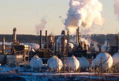 Irving Oil Refinery in Saint John, N.B.