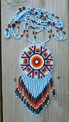 american native by deancouchie on Etsy,  #beadwork
