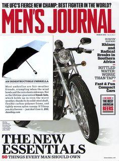 Davek in Men's Journal. It'll keep you dry forever