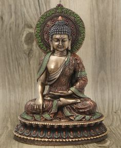 Detailed Meditating Buddha Statue, 10 Inches