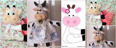 4 Moldes para hacer muñecos de fieltro rellenos con hule espuma ~ Solountip.com Dyi Crafts, Plushies, Ideas Para, Sewing Patterns, Google, Repurposed, Feltro, Baby Dolls, Scrappy Quilts