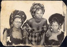 Vintage African style