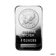 5 Oz Sunshine Silver Bars And 2015 1 Oz Sioux Buffalo Silver Coin On Sale - Coin Community Forum Bullion Coins, Silver Bullion, Mint Bar, Silver Investing, Types Of Gold, Gold Stock, Silver Bars, Coin Collecting, 1 Oz