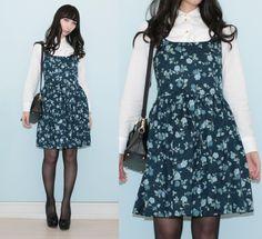Otto L. - Blue Floral Dress
