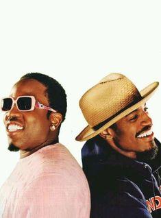 "OutKast. #Big Boi & Andre 3000. ""Im sorry Ms Jackson"""