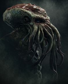 Cthulhu, Josh Crockett on ArtStation