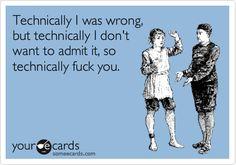 Technically!