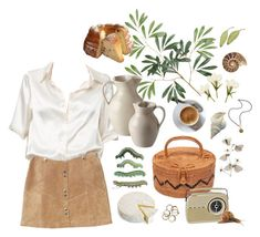 """""""guayasamin"""" by vfcwyn ❤ liked on Polyvore featuring MANGO, Brandy Melville, NOVICA, French Kande and Simon Pearce"""