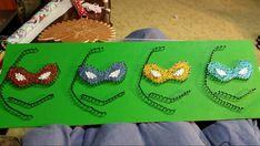 Ninja Turtles String Art