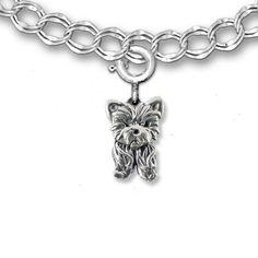 Hey, I found this really awesome Etsy listing at https://www.etsy.com/listing/125546988/sterling-silver-yorkie-puppy-charm