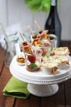 Dreierlei Liebelei: Virtuelle Brautparty für Sarah mit Cocktail und dreierlei Fingerfood + Give-Away von My Bridal Shower
