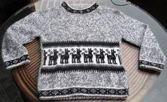 Grauer #Kinder #Pullover mit #Alpacitas aus #Alpakawolle  für #Kinder von 3-8 Jahren Inka, Men Sweater, Sweaters, Fashion, Ponchos, Baby Size, Alpacas, Grey, Clothing