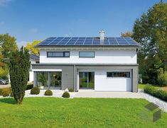Bauhaus, Modern House Plans, Solar Panels, Garage Doors, Shed, Outdoor Structures, Outdoor Decor, Home Decor, Style